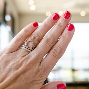 J Albrecht Designs stacking rings