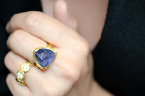 Mighty Tanzanite Ring