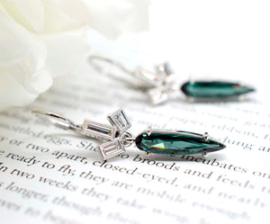 Tourmaline Spike Dangles