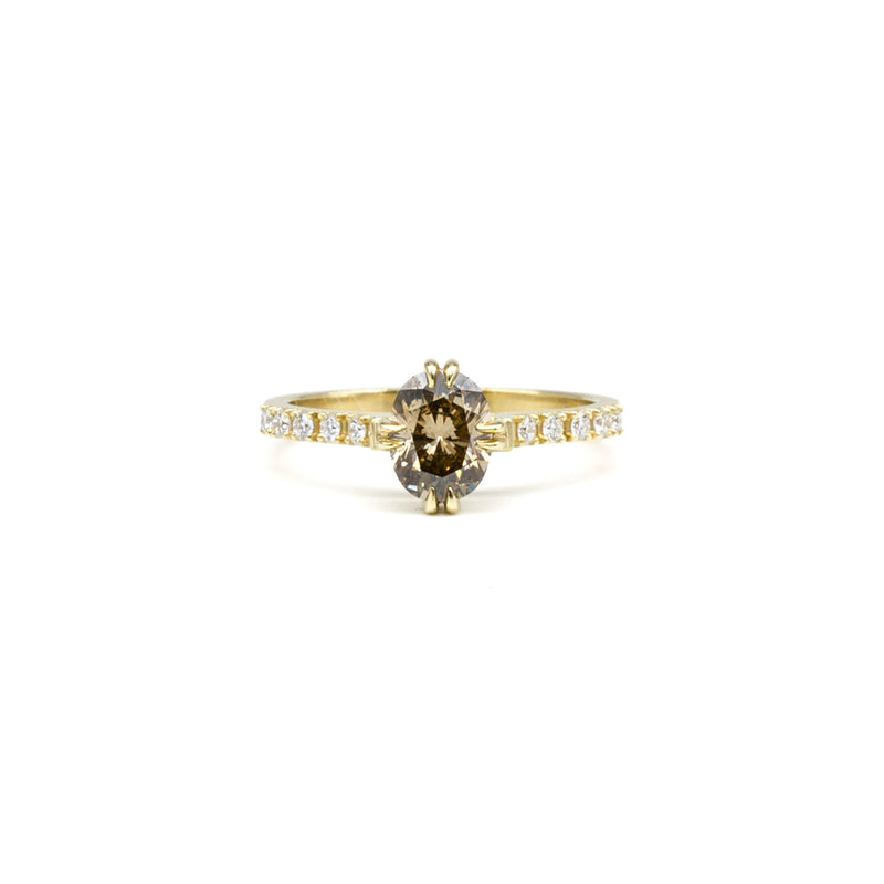 Diamond Henrietta Ring