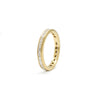 Baguette Diamond Yellow Gold Eternity Ring