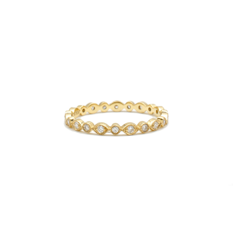 Marquise & Round Band