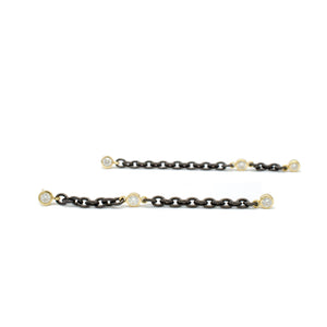 Black & Gold Dangles