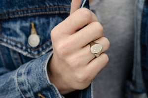 Galaxy Signet Ring