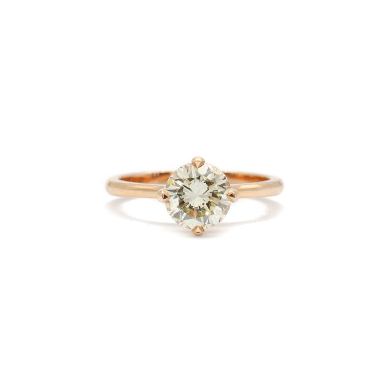 1.14ct Solitaire in Rose Gold