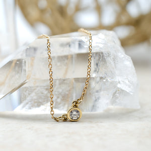 .10ct Everyday Necklace in Yellow