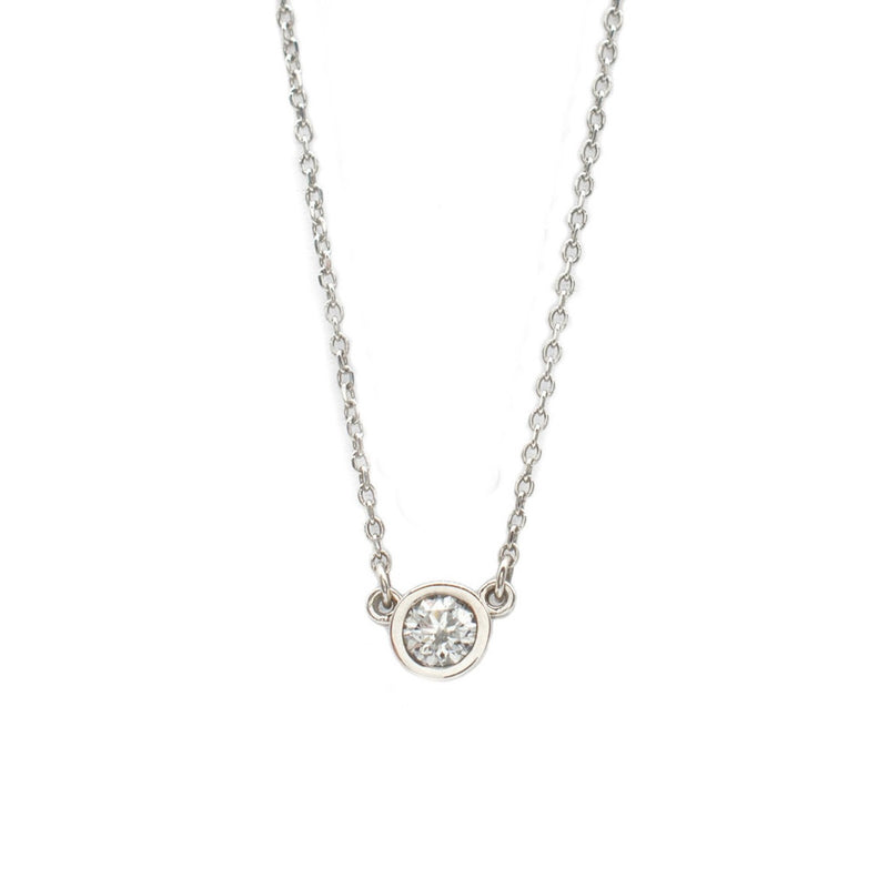 .25ct Everyday Necklace in White