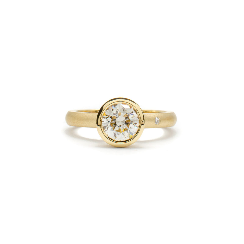 Cathedral Bezel Ring