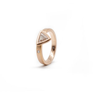 Offset Ring (Rose Trillion)