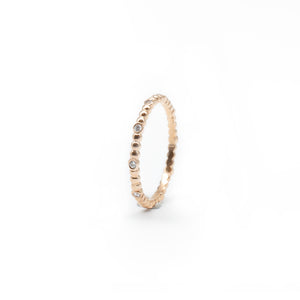 Rose Gold Itty Bitty Orb Band