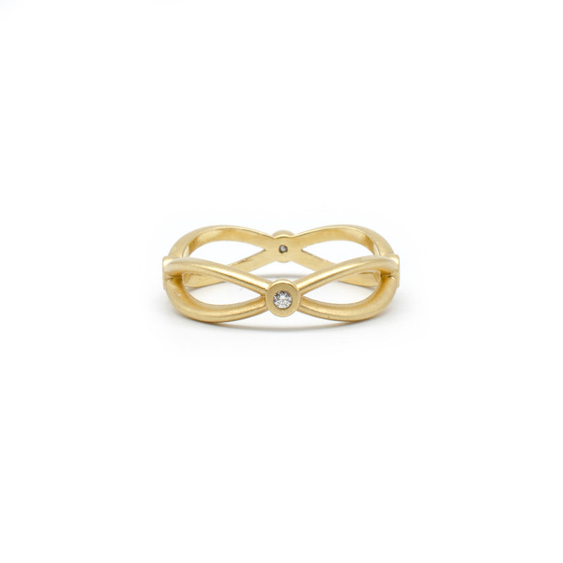 Yellow Gold Infinity Band