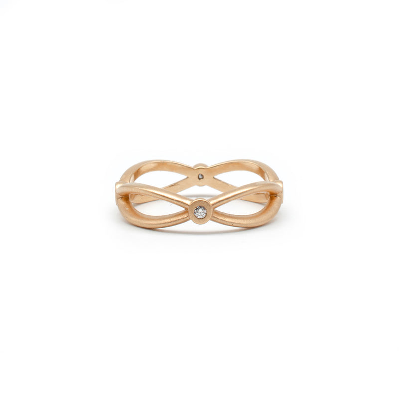Rose Gold Infinity Band