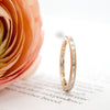 Baguette Diamond Rose Gold Eternity Ring