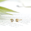 Bitty Bezel Diamond Studs