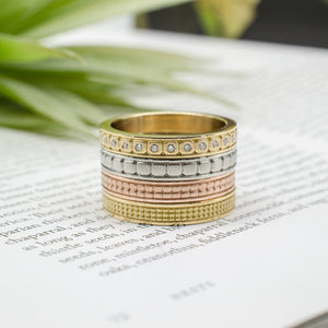 Double Square Stacking Band