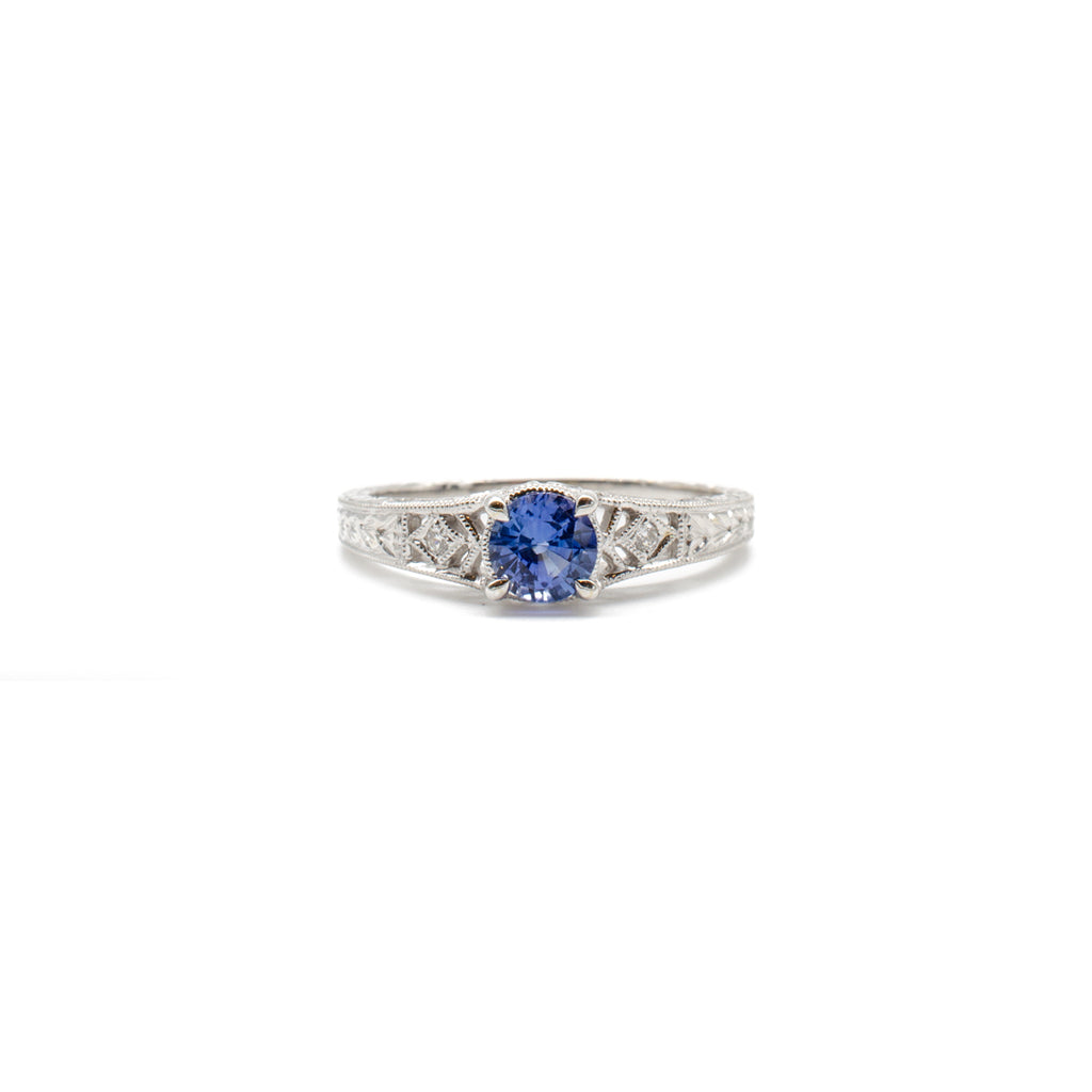Sapphire Sweetie Ring