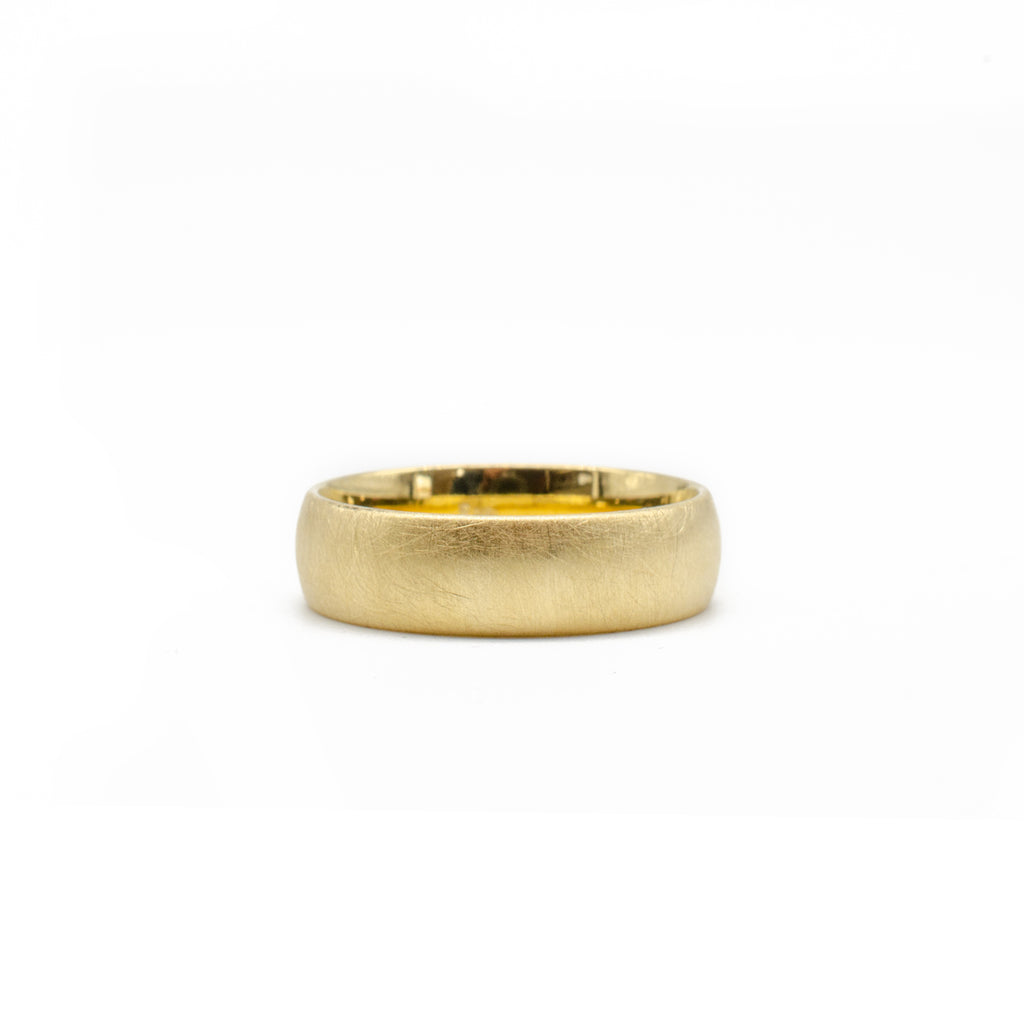 Yellow Gold 6mm Band