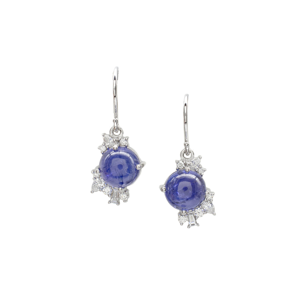 Tanzanite Bauble Earrings