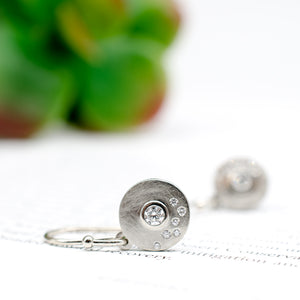 Submarine Disc Earrings