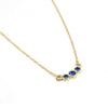 Petite Sapphire One Up Necklace