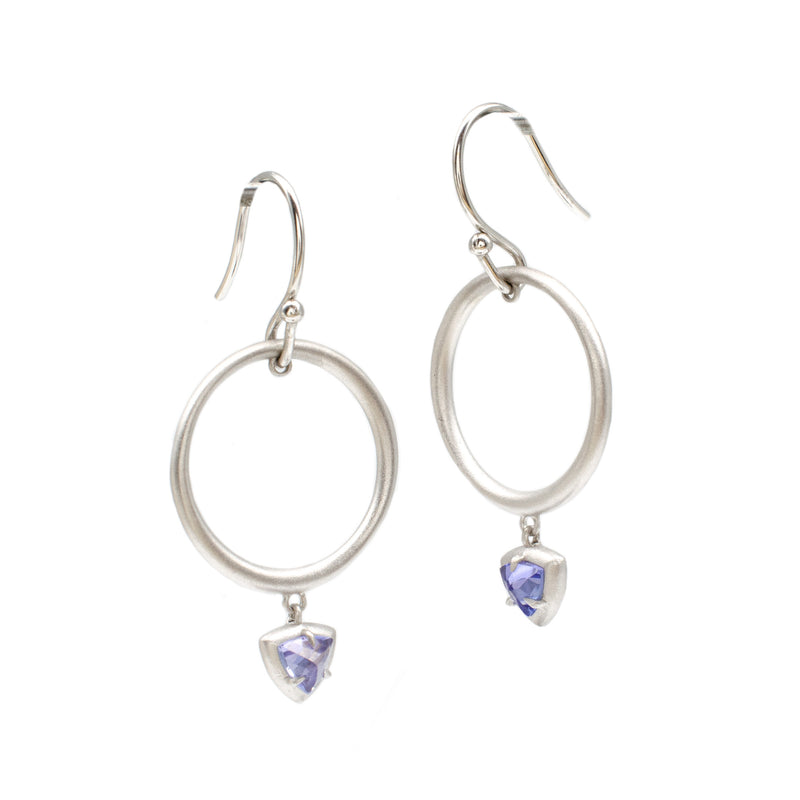 Tanzanite Double Dangles