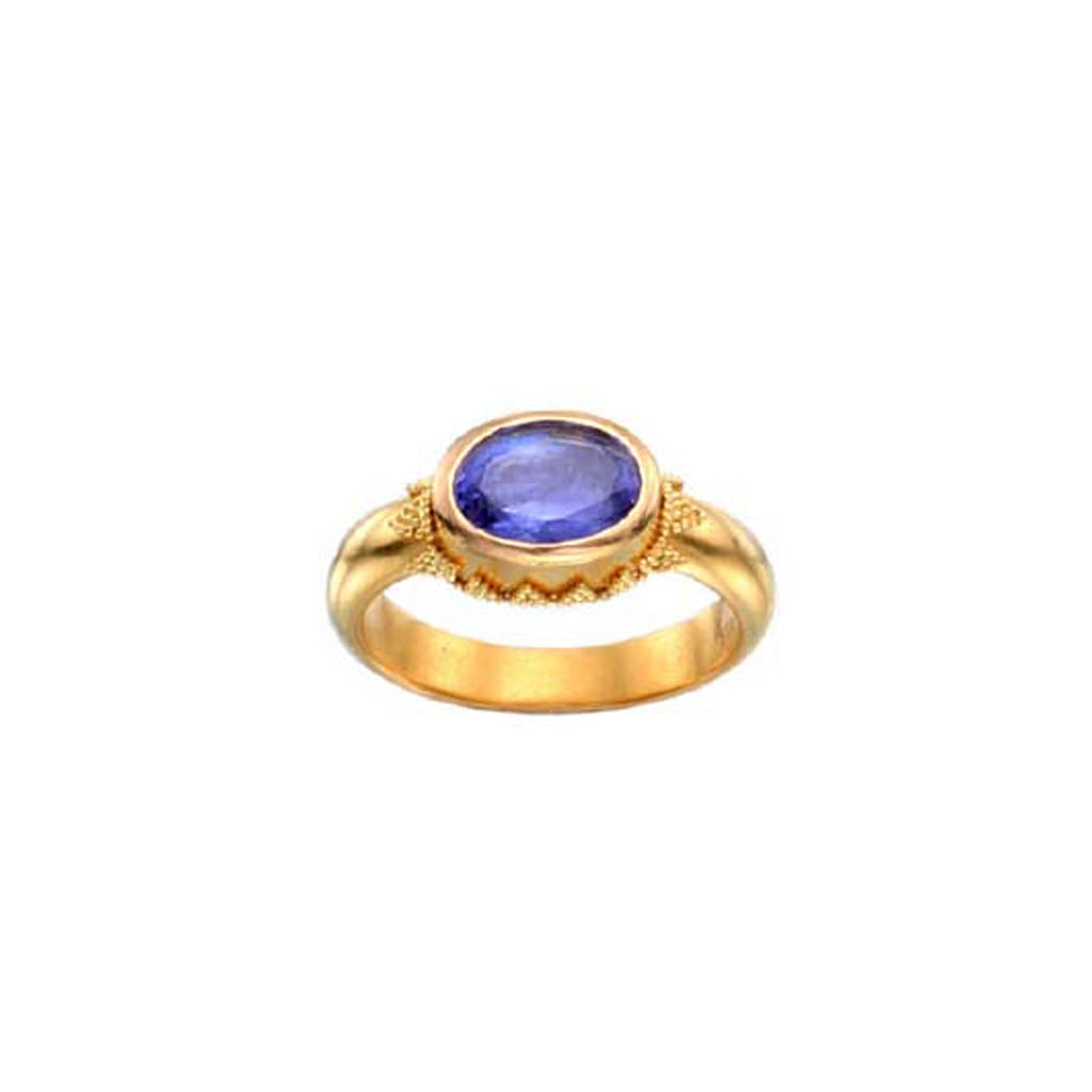 Small Tanzanite Ring