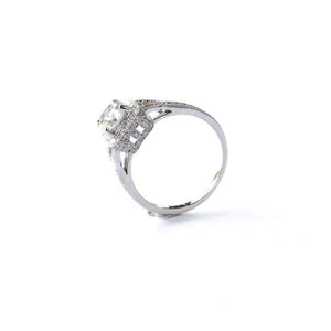 Cushion Halo Ring