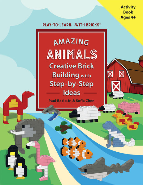 (Launch May 1st!) AMAZING ANIMALS: Creative Brick Building with Step-by-Step Ideas