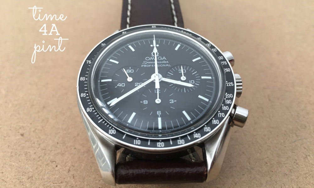 The Time 4A Pint Podcast, Omega Speedmaster on a Two-Stitch strap