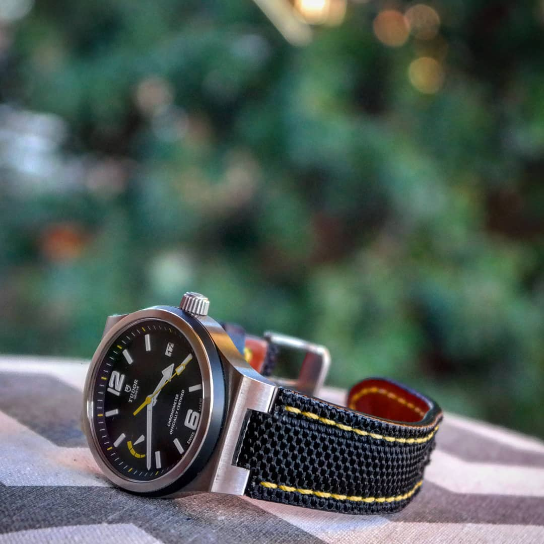 Tudor North Flag Leather Watch Strap