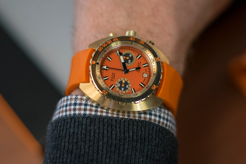 Solid Gold Doxa Sub 200 T. Graph Limited Edition