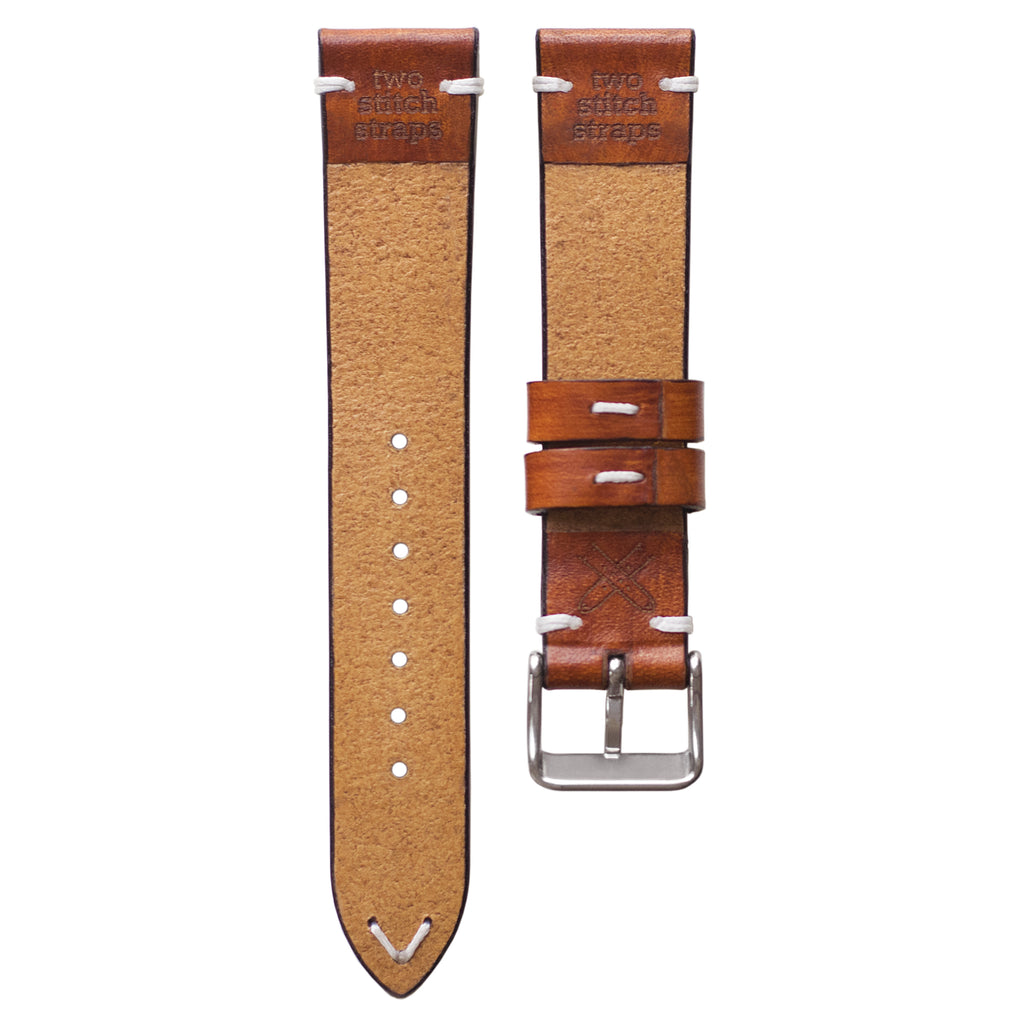 534e5c094cbc Two stitch honey leather watch strap twostitchstraps jpg 1024x1024 Leather  watch bands