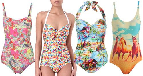 Trendy Sublimation Swimwear for Spring Outfits
