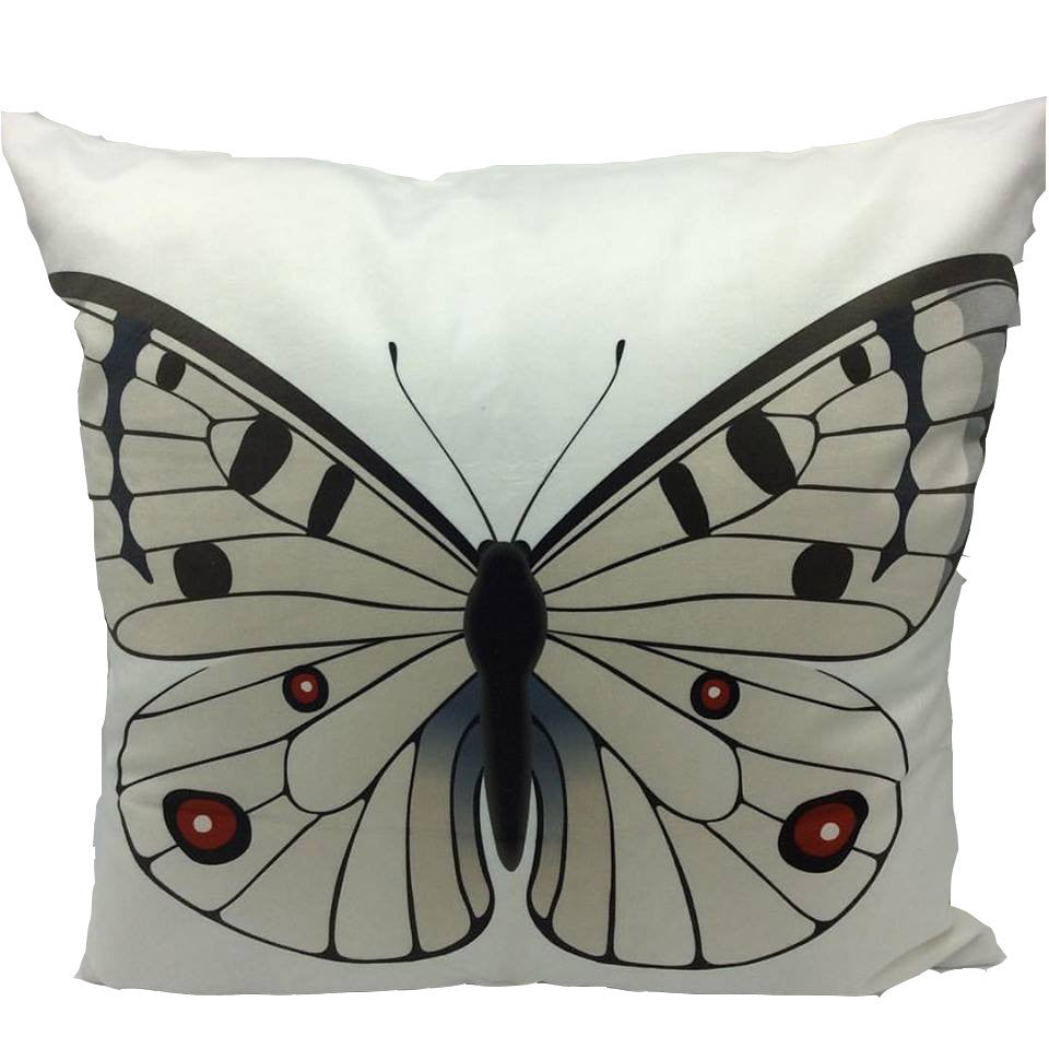 Throw Pillow Case Cover Butterfly Kingdom - ZBAZAAR