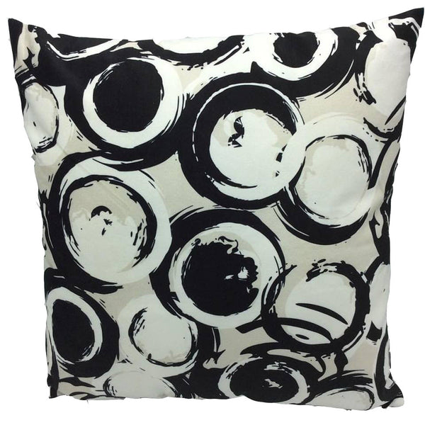 Throw Pillow Case Cover Circles & Dots - ZBAZAAR