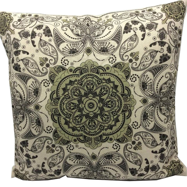 Throw Pillow Case Cover Dejavu - ZBAZAAR