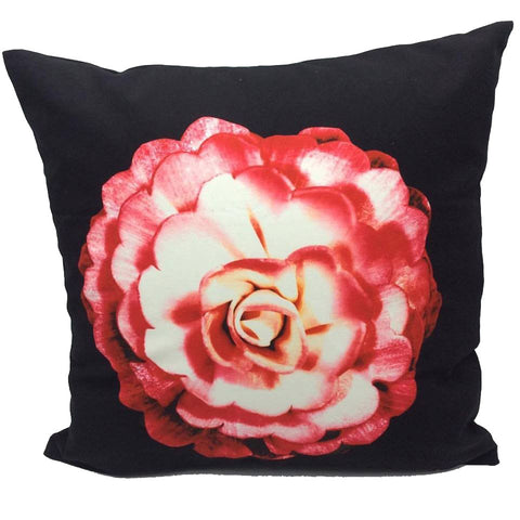 Throw Pillow Case Cover Lover's Rose