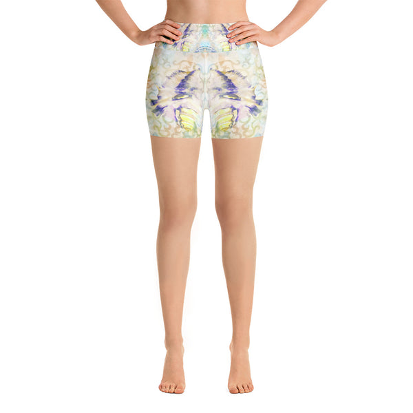 White Angel Yoga Short - ZBAZAAR