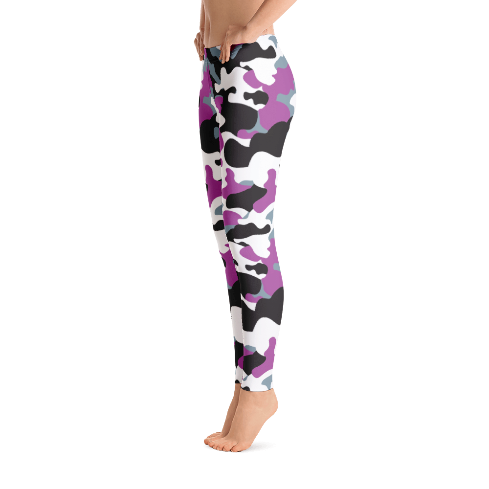Urban Leggings / Purple Camo