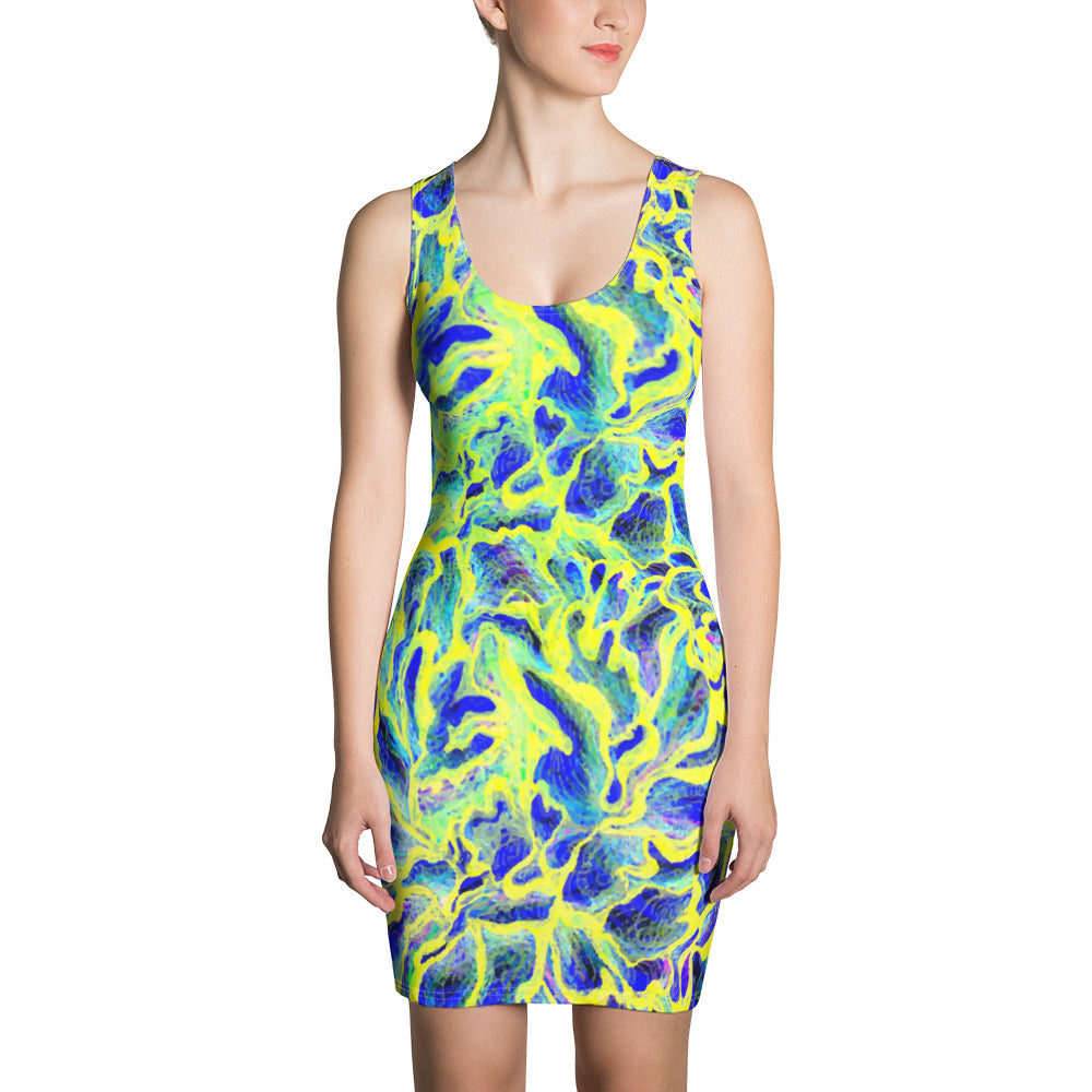 Colorful Skin Sublimation Cut & Sew Dress - ZBAZAAR
