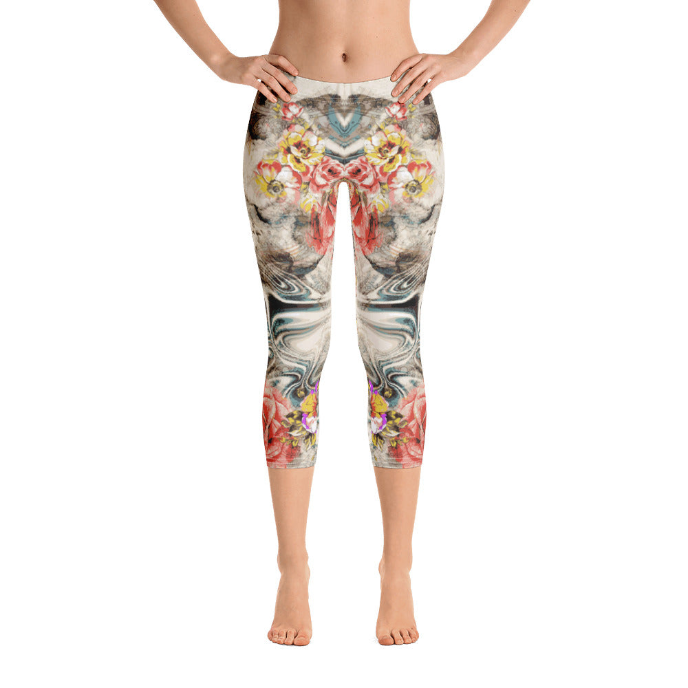 Clear Mind Capri Legging - ZBAZAAR