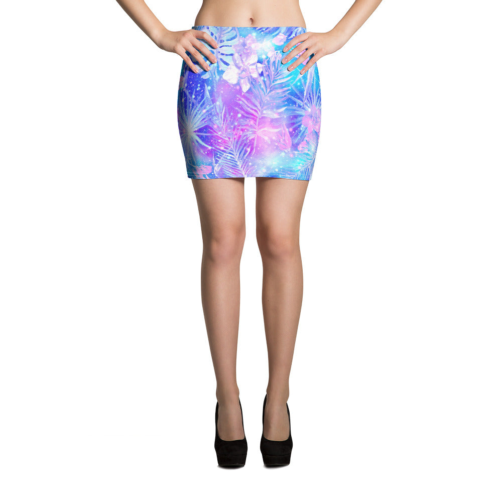 Happy Mixture Mini Skirt - ZBAZAAR