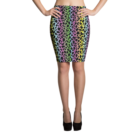 Pencil Skirt / LF Cheetah