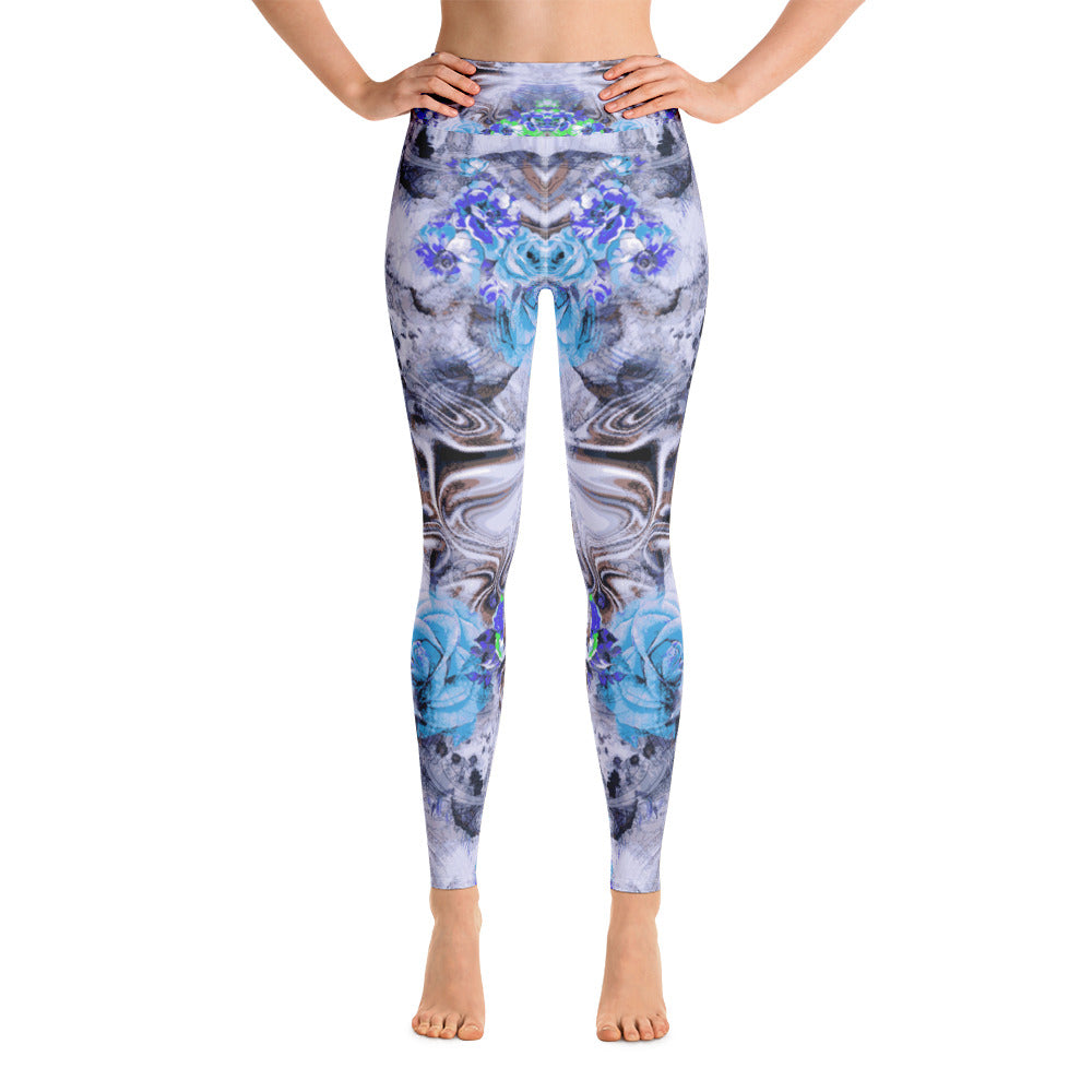 Blue Mist Yoga Legging - ZBAZAAR