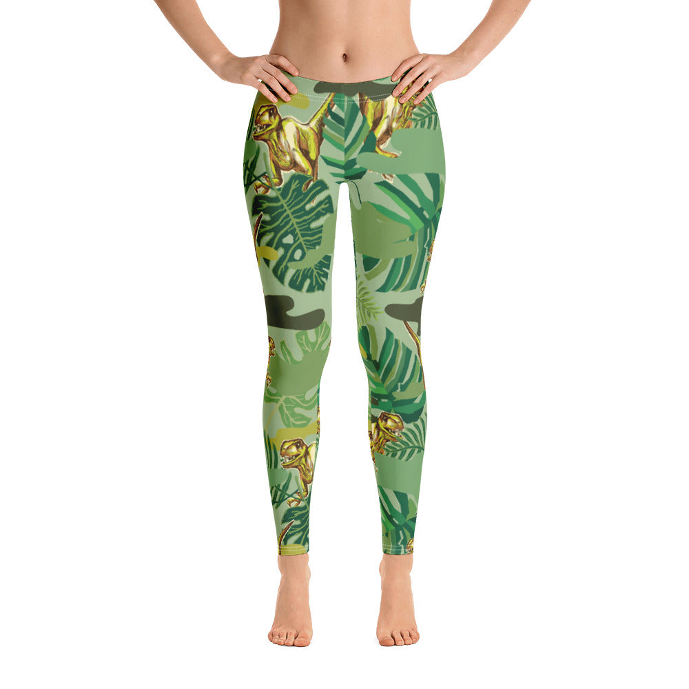 The Dinosaur All-Over Legging - ZBAZAAR