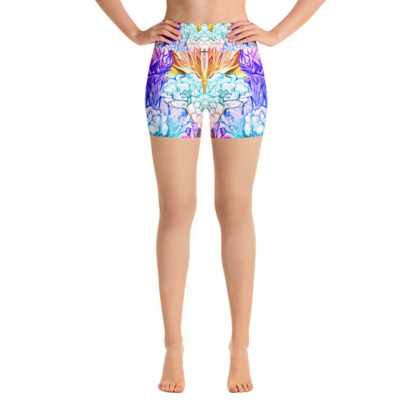 Sharp Colors Yoga Short - ZBAZAAR