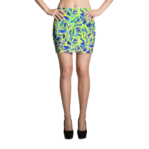 Colorful Skin Mini Skirt - ZBAZAAR