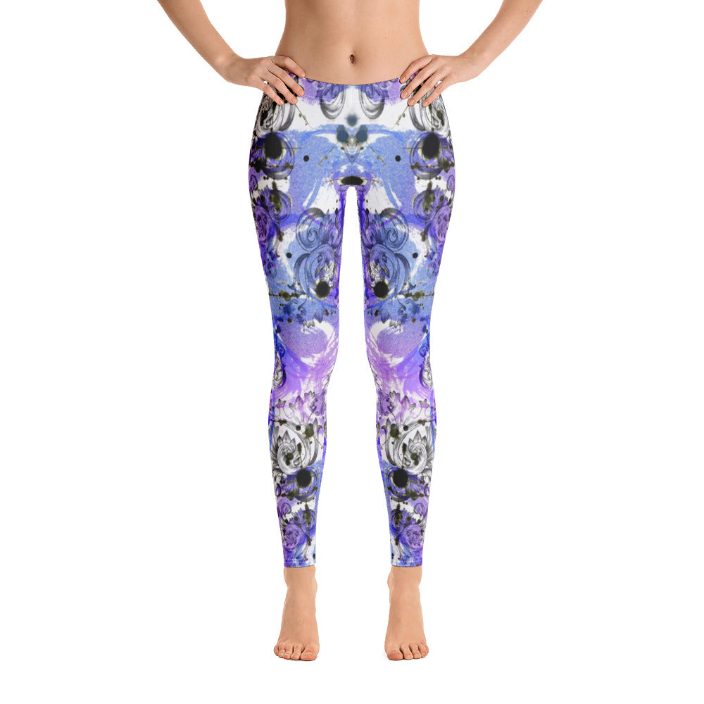 Mystery Purple All-Over Legging - ZBAZAAR
