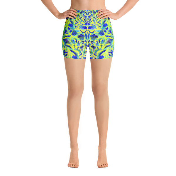 Colorful Skin Yoga Short - ZBAZAAR