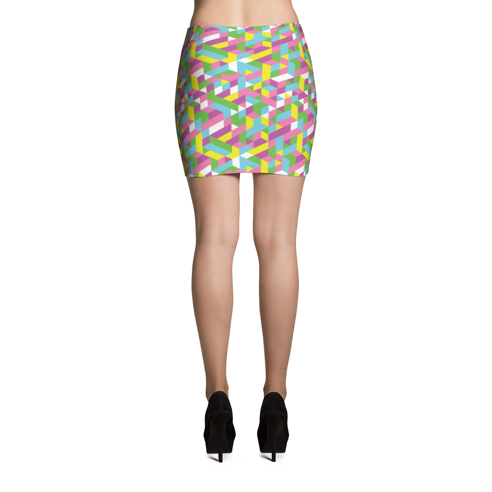 Mini Skirt / Pastel City